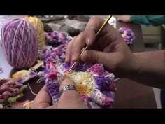 Mulhercom 01082013 Marcelo Nunes Rosa Enrolada em Crochê Parte 22 - YouTube