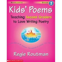 Kids Poems: Grade 2: Teaching Second Graders to Love Writing Poetry classroom, school, reluct writer, kid write, grade poetri, kids, educ, poetry, 2nd grade