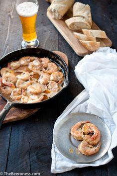 New Orleans BBQ Beer Shrimp