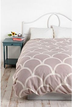 UrbanOutfitters.com > Stamped Scallop Duvet Cover