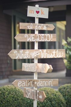 """signage leading the way to """"whet your whistle""""  Photography By / victoriasouza.com, Wedding Planning   Design By / sixpenceevents.com"""