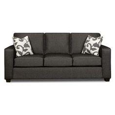 Nebraska Furniture Mart – Xenia Contemporary Gray Sofa