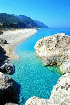 Lefkada, Kathisma beach , Greece