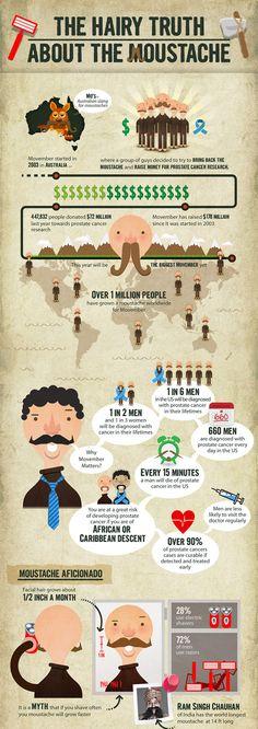 Mustache infographic
