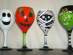 @Kendra halloween wine glasses