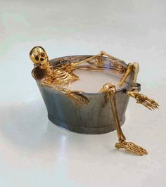 A good soak before All Hallows Eve