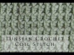 craft, crochet stitch, crochet coil, tunisian coil, tunisian crochet, crochet tunisian, crochettunisian, coil stitch, stitches