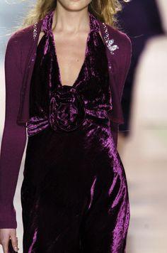 purple velvet dress: Through Elia's Eyes