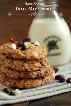 Four Seasons Famous Trail Mix Cookies by @Megan {Country Cleaver}
