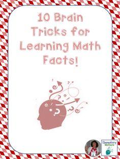 math fact, grade math, learn math