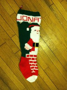 Stocking 1 by Cathy-Cate, via Flickr