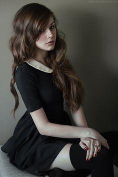 #long #brown #waves #hair