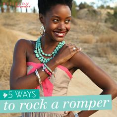 5 Ways to Rock a #Romper | #WomensFashion #Silpada