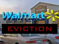 Yup..... Only in Williston ND will one get evicted from the Walmart parking lot!!!!!