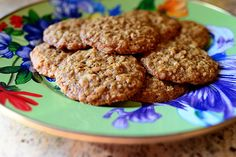 Brown Sugar Oatmeal Cookies.