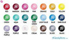 mar wholesal, color 5lb, colors, candies, individu color, candi bar, wholesal candi
