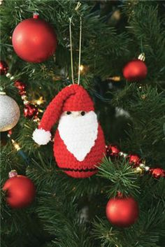 #Santa #Ornament #holiday