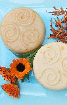 Natural Calendula Soap Recipe ~ Lovely Greens