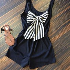 Such a cute romper. Love the sandals too!