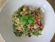 quinoa Mediterranean salad