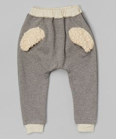 This Dark Gray Fuzzy Pocket Sweatpants - Infant, Toddler & Kids by Leighton Alexander is perfect! #zulilyfinds