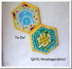 log cabins, lili quilt, log cabin quilts, quilt tutorials, hexi