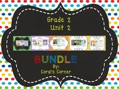 This 2nd grade, Unit 2 (Weeks 1-5) highly INTERACTIVE journal contains over 35 pages of student activities aligned to the McGraw Hill Wonders series.  It is ideal for teaching all of the skills in this Unit in a powerful, student-friendly way!