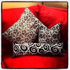 Easy DIY throw pillows !