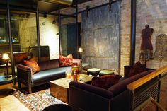 milwaukee, interior, boutique hotels, irons, horses, lobbi, design studio, iron hors, hors hotel