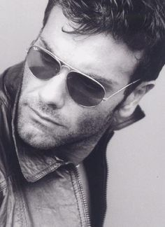 Scruffy Young Man in Sunglasses.