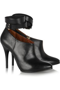 Leather boots by McQ Alexander McQueen
