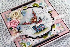 card idea, valley stamp, lili, gorgeous card