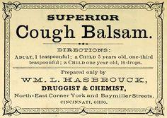cough balsam