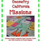 CA Mission Geometry Activity