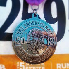 My Brooklyn Half Medallion!