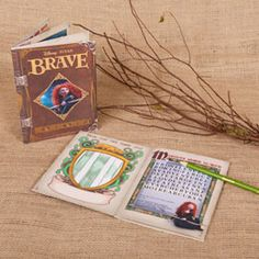 BRAVE THEME: The Activity Book