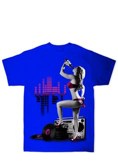Music Wifey  -  PenthouseStore.com     The perfect wifey for all you music lovers! Complete with champagne and headphones.