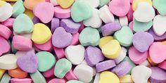 candy hearts, sweet love