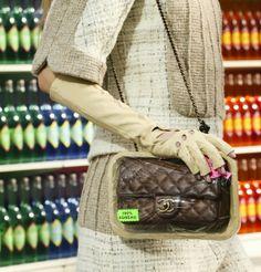 Paris Fashion Week 2014-2015: Bolsas da Chanel