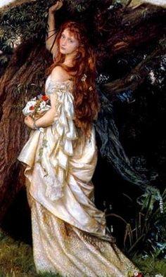 preraphaelit, pre raphaelit, the artist, beauti, arthur hugh, john hughes, museum, paintings, ophelia