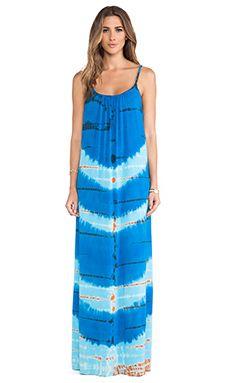 Gypsy 05 Bandar Spaghetti Maxi Dress in Blue  Royal | REVOLVE