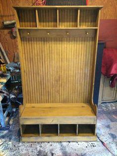Storage bench repop Past Time Primitives