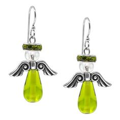 Waiting for an Angel Earrings | Fusion Beads Inspiration Gallery