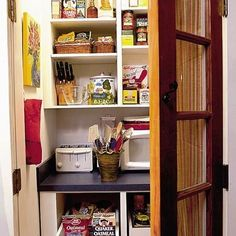 Pantry Closet Design, Pictures, Remodel, Decor and Ideas - page 23