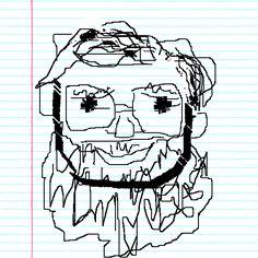 See Drawings of  Bill O Shaughnessy: professor of Meteorology at San Jose State University!