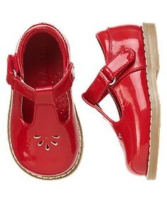 Every little lady needs shiny red shoes right!?
