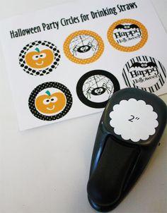 {FREE} Kid Friendly Printable Halloween Party Circles