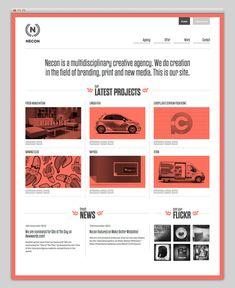 web layout - nice n clean