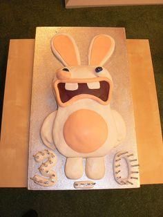 Raving Rabbids Cake