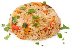 Slow Cooker Spanish Rice - Great Side Dish to serve with any Mexican Meal!  YUM!  www.GetCrocked.com